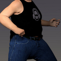 Manly JeanZZ for Genesis 8 Male image 7
