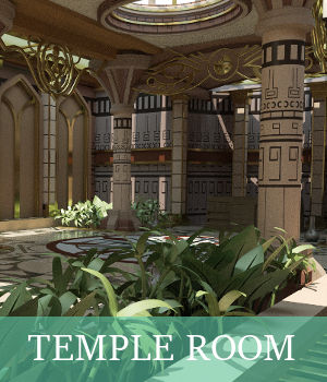 Temple Room 3D Models TruForm