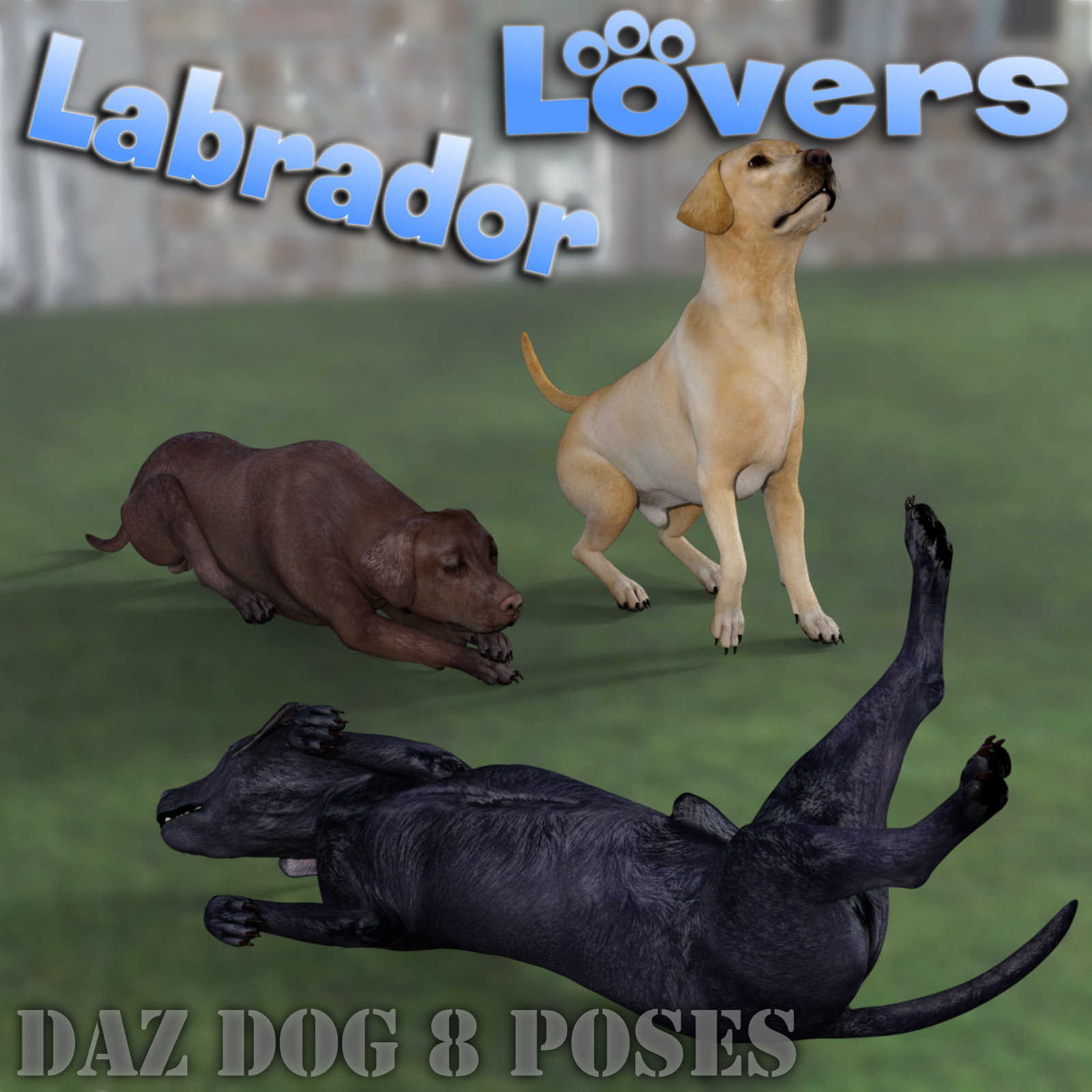 LABRADOR Lovers Poses for Labrador Breed  by Winterbrose