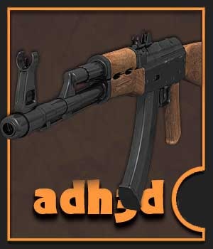 AK-74 rifle 3D Models adh3d