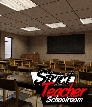Strict Teacher - SCHOOLROOM 3D Models powerage
