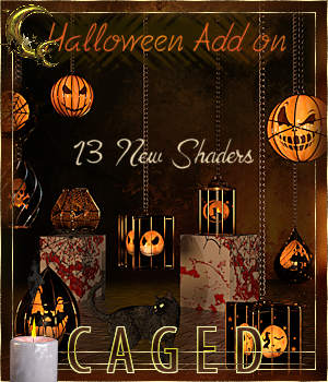 Caged Lanterns - Halloween Add on for DAZ 3D Figure Assets Cyriona