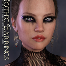 SVs Gothic Earrings image 1