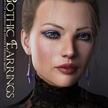 SVs Gothic Earrings image 2