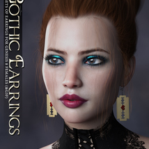 SVs Gothic Earrings image 3