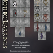 SVs Gothic Earrings image 4