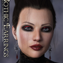 SVs Gothic Earrings image 6
