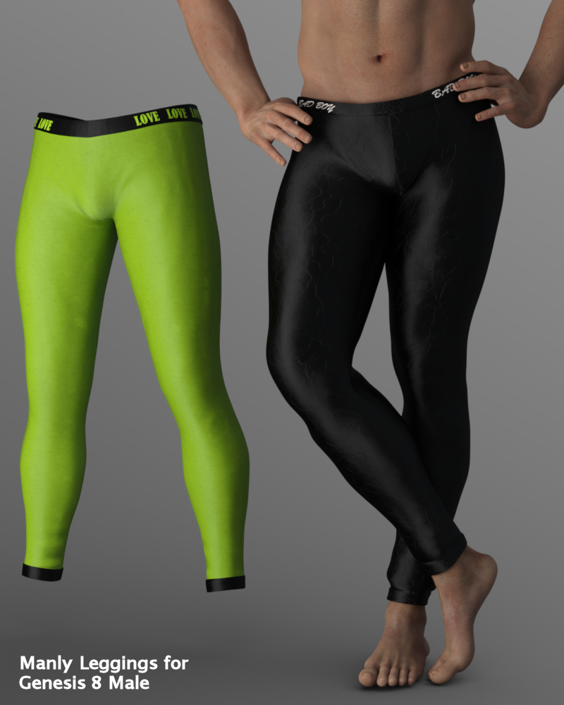 Manly Leggings for Genesis 8 Male by Karth