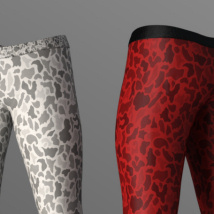 Manly Leggings for Genesis 8 Male image 2