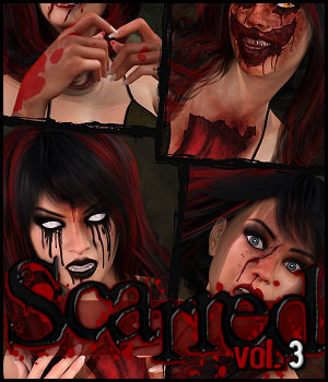 Scarred Vol. 3 for Genesis 8 Female(s)
