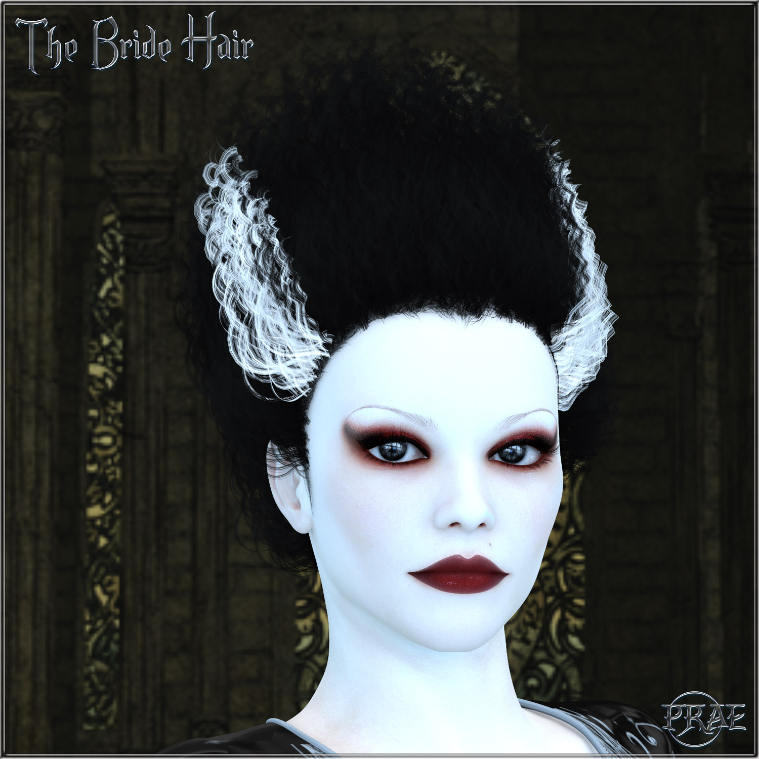 Prae-The Bride Hair V4 Poser