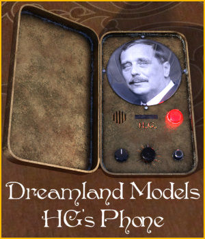 HG's Phone for DS 3D Models 3D Figure Assets DreamlandModels