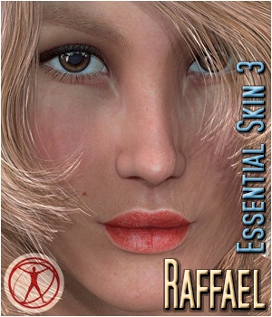 Raffael - Essential Skin 3 3D Figure Assets 3Dream