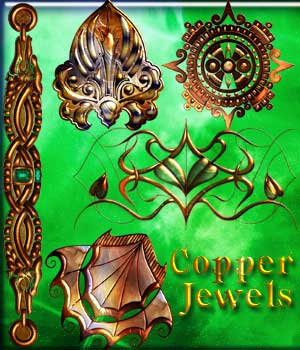 Harvest Moons Copper Jewels 2D Graphics Harvest_Moon_Designs