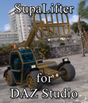 SupaLifter - for DAZ Studio  3D Models VanishingPoint