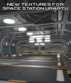 New Textures For AJ Space Station URARTU