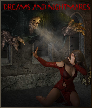 Dreams and Nightmares - Backgrounds and poses for G 3 and 8 F 2D Graphics 3D Figure Assets ilona