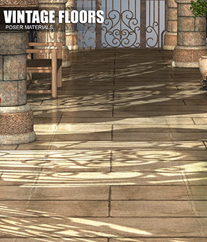 Poser - Vintage Floors 2D Graphics Merchant Resources Atenais