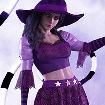 Bippity Boppity dForce outfit for the Genesis 8 Female(s) image 1