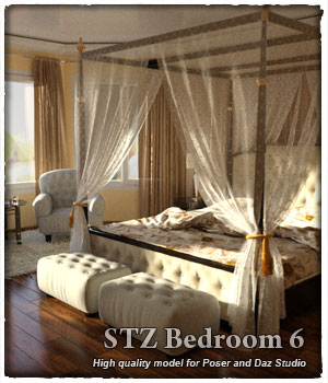 STZ Bedroom 6 3D Models santuziy78