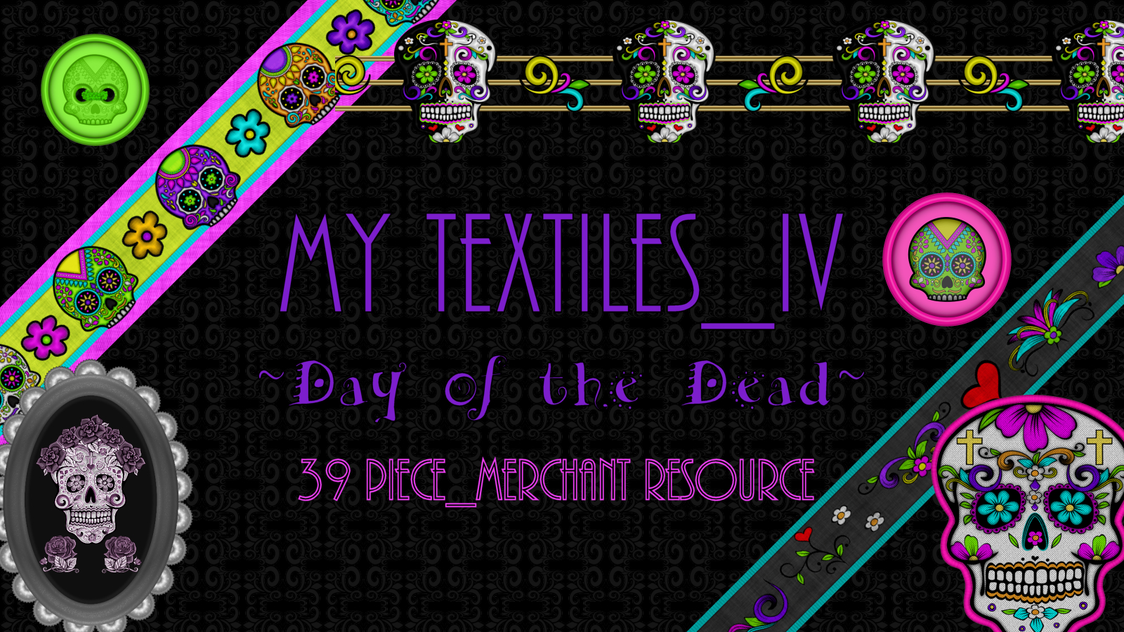 My Textiles IV_Day of the Dead_MR