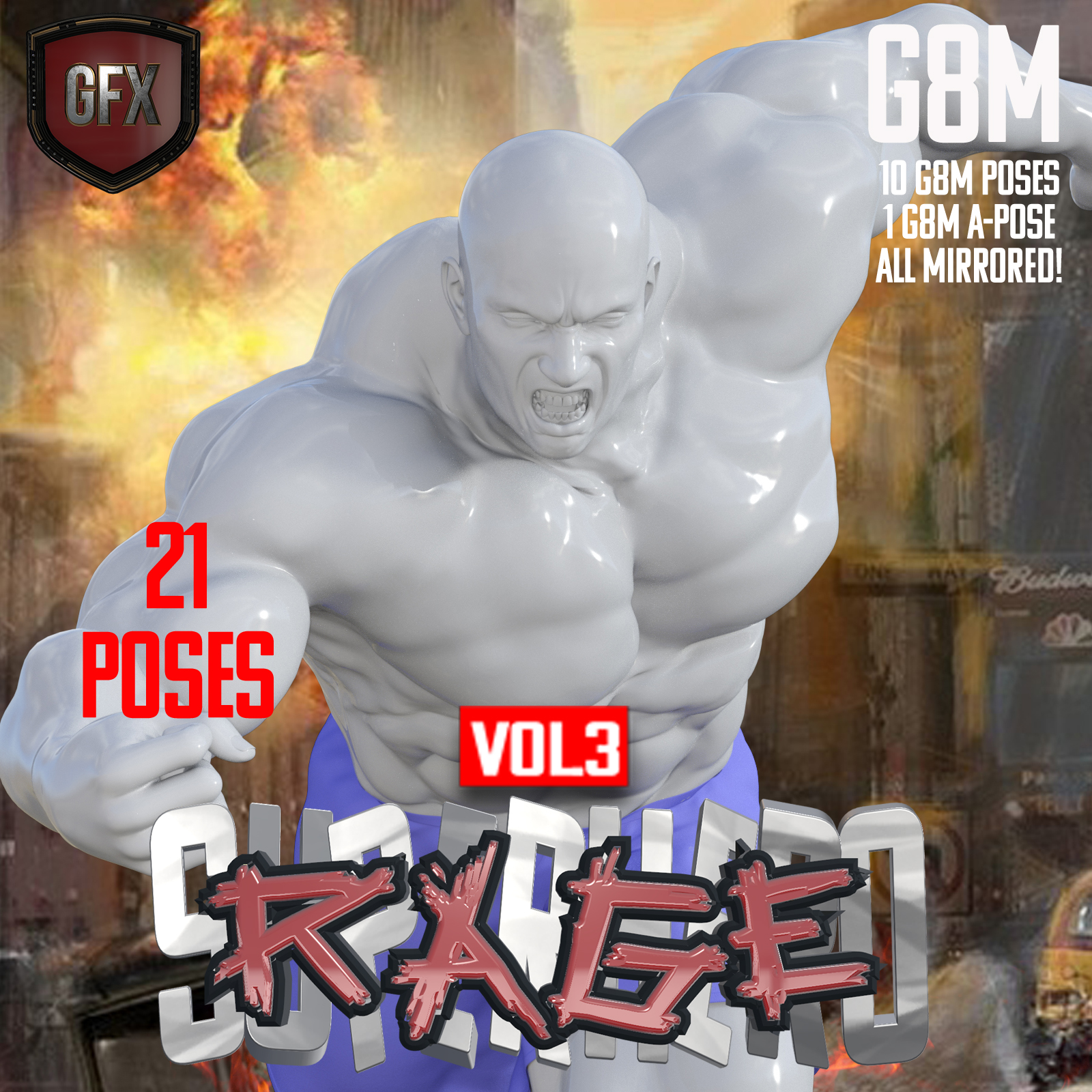 SuperHero Rage for G8M Volume 3