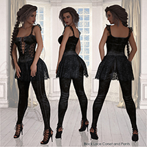 DC-Night and Day for DAZ G8 Female image 2