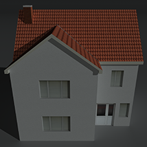 Low Poly House 1 - Extended License image 1