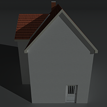 Low Poly House 1 - Extended License image 3