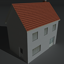 Low Poly House 1 - Extended License image 4