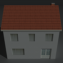 Low Poly House 1 - Extended License image 5