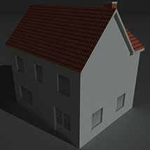 Low Poly House 1 - Extended License image 6