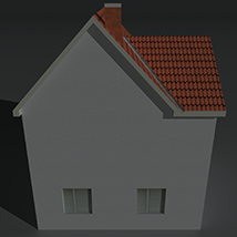 Low Poly House 1 - Extended License image 7