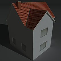 Low Poly House 1 - Extended License image 8