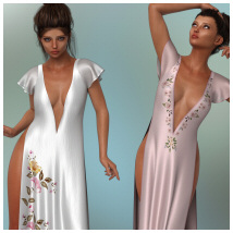 dForce - Romance Dress for G8F image 1