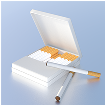 Smoker's Delight: Long & Slim Cigarettes with Boxes image 1