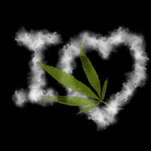 Cannabis PS Brushes image 1