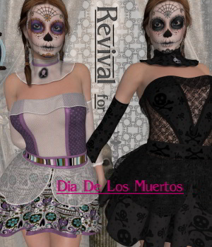 Revival for DDLM V4_Poser 3D Figure Assets DivabugDesigns