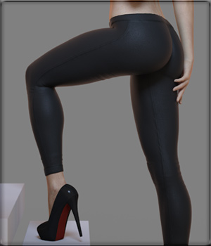 Sexy Skinz - Hot Pants and Capris for G8F 3D Figure Assets vyktohria