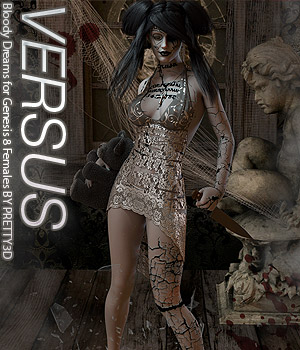 VERSUS - Bloody Dreams for Genesis 8 Females 3D Figure Assets Anagord