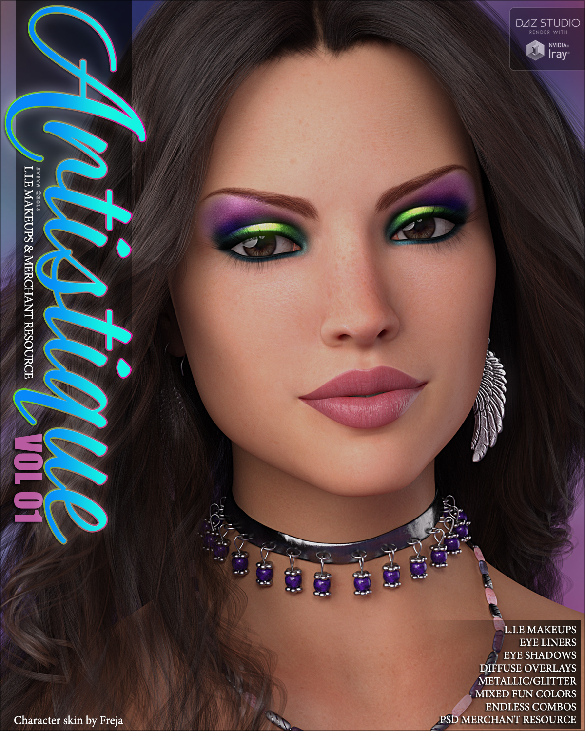 SV Artistique L.I.E and Resource Makeups G8F G3F by Sveva