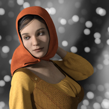 Agnes for Genesis 8 Female image 6