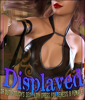 Displayed for dForce Sexy Loin Dress 3 for Genesis 8 Female(s) 3D Figure Assets ShanasSoulmate