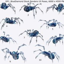 Robotic Spider Stock Image Pack_01 image 1