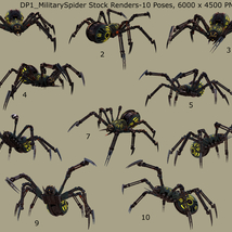 Robotic Spider Stock Image Pack_01 image 5