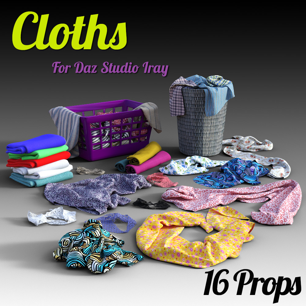 Cloths for DS Iray