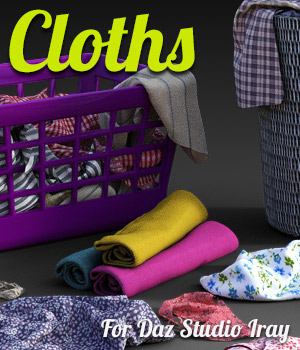 Cloths for DS Iray 3D Models powerage