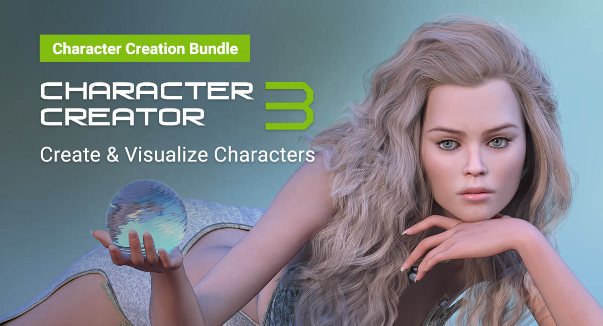 Character Creator 3 - Character Creation Bundle