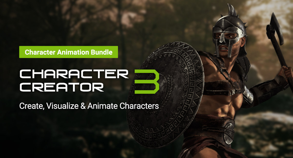 Character Creator 3 - Character Animation Bundle by Reallusion