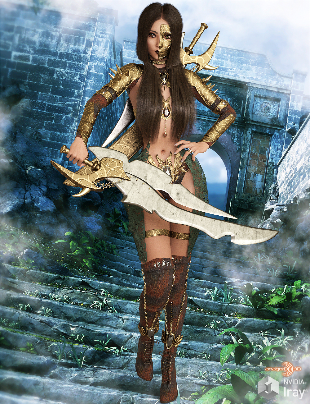 HEROINE - Sentouki The Fantasy Warrior Outfit